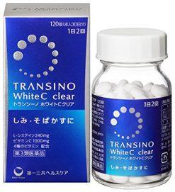 TRANSINO WHITE C CLEAR 120 Vien mau moi