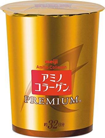Collagen Meiji Amino Premium refill mẫu mới 96g – 32 ngày uống.