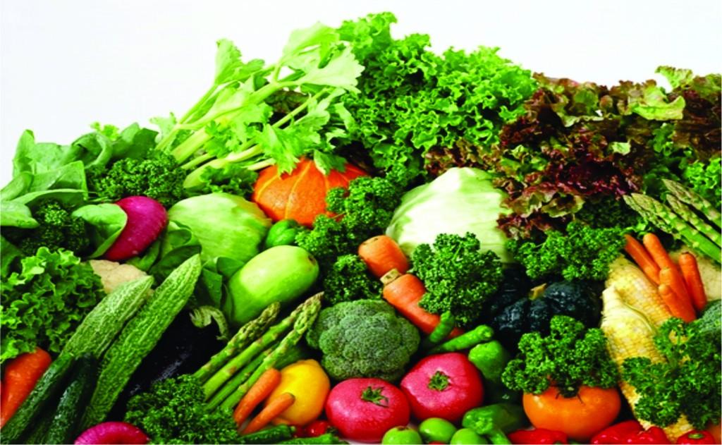 Các loại rau xanh, củ, trái cây chính là nguồn thực phẩm tốt cho da cần có trong bữa ăn hàng ngày