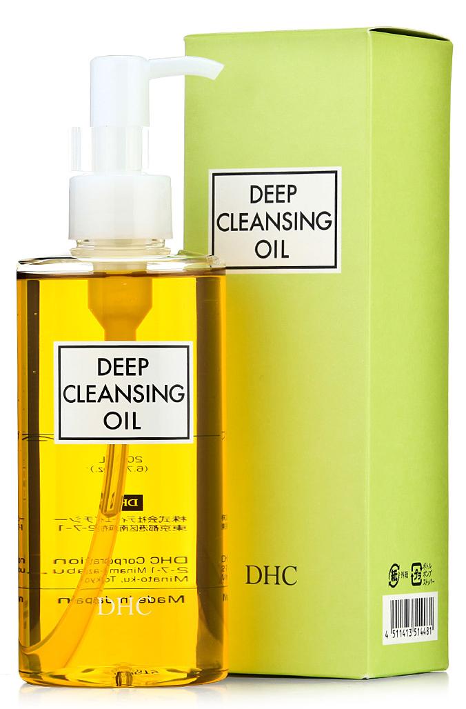 Dầu tẩy trang deep cleansing oil của nhật bản, chai 200ml
