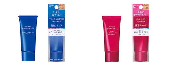 Shiseido Aqualabel White Liquid Foundation SPF23 PA++