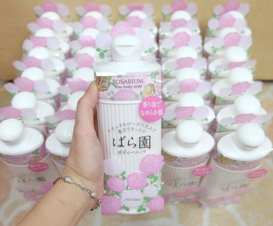 Shiseido-Rosarium-rose-body-soap