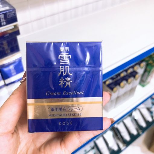kem duong kose sekkisei cream excellent 50g japan
