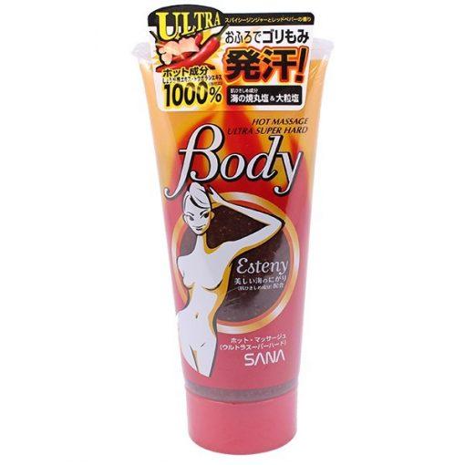 kem tan mo bung esteny body hot massage gel cua nhat ban