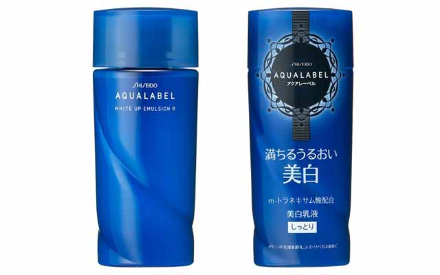 how to use shiseido aqualabel