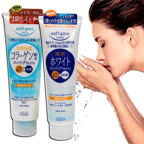sua-rua-mat-Kose-Softymo-Collagen-190g