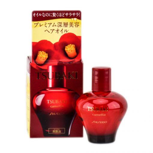 shiseido tsubaki camellia hair oil
