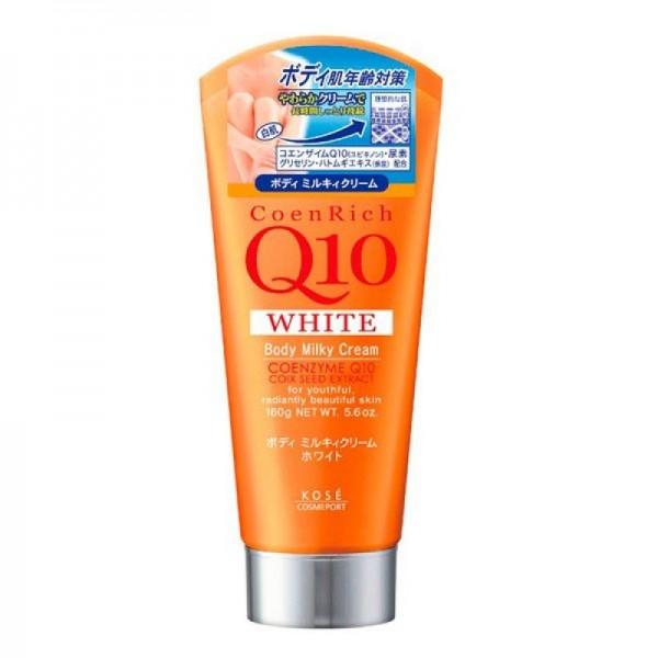coenrich-q10-white-body-milky-cream-cua-kose-nhat-ban