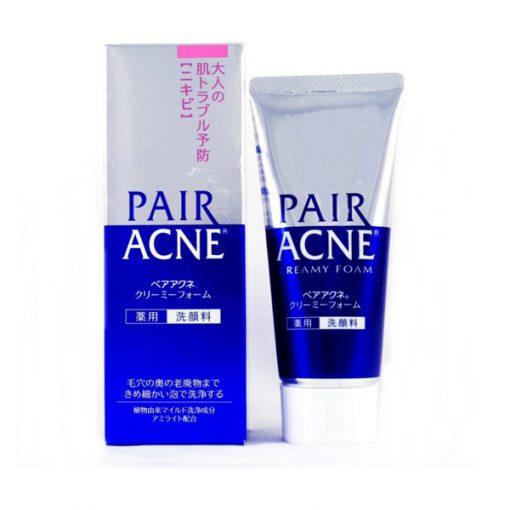 sua rua mat pair acne cream foam 80g nhat ban