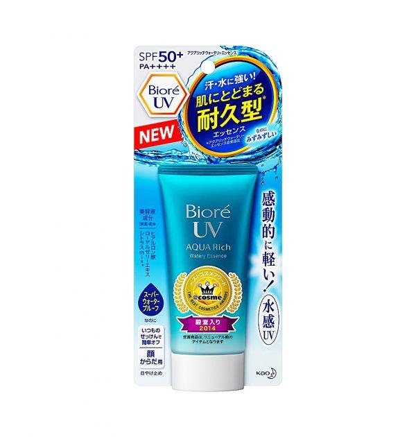 Kem chống nắng Biore UV Aqua Rich Watery Essence SPF 50+/ PA++++ 40ml - Mỹ Phẩm Nhật Xách Tay Chính Hãng Uy Tín