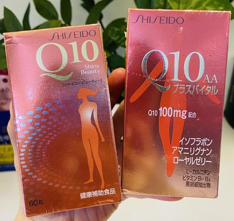 vien uong dep da chong nhan shiseido q10 aa 100mg japan