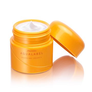 Kem Dưỡng Shiseido Aqualabel Bouncing Cream 50g mẫu mới 2017