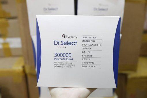 tinh chat nhau thai heo dr select placenta drink 300000mg dang goi3