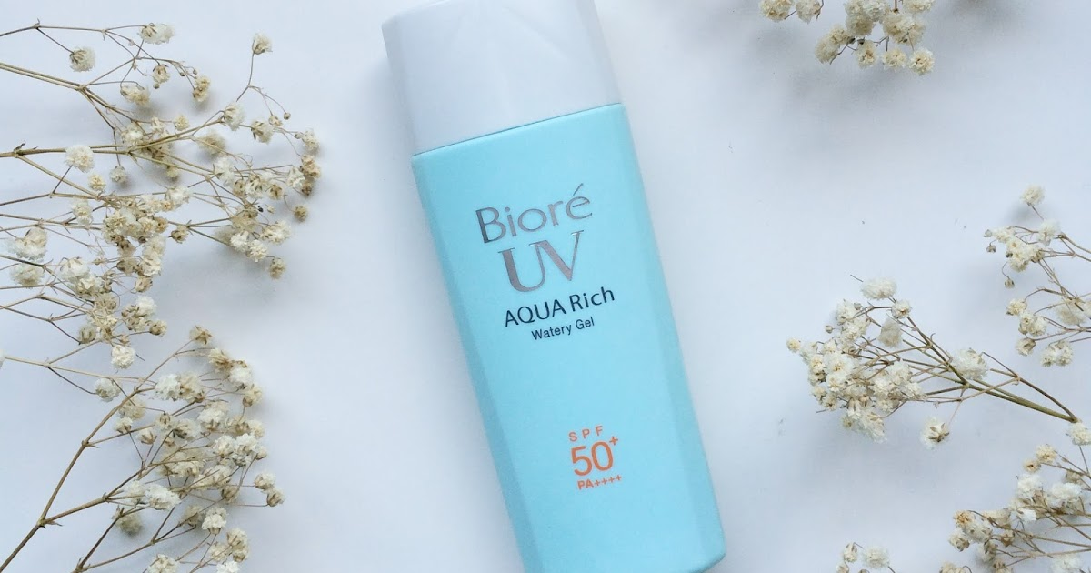 Biore UV Aqua Rich Watery Gel_Review_Jodulu