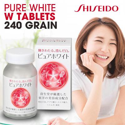 Công dụng của Pure White Shiseido 240 viên