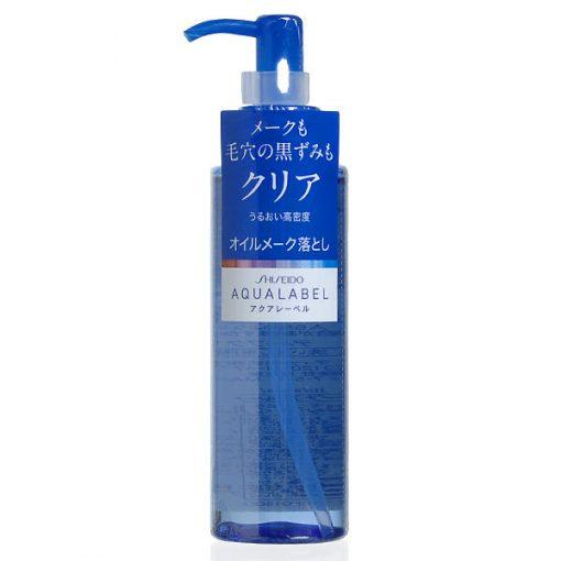 dau tay trang shiseido aqualabel 150ml