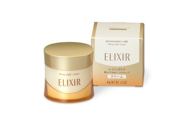 kem duong dem shiseido elixir lifting night cream 40g moi