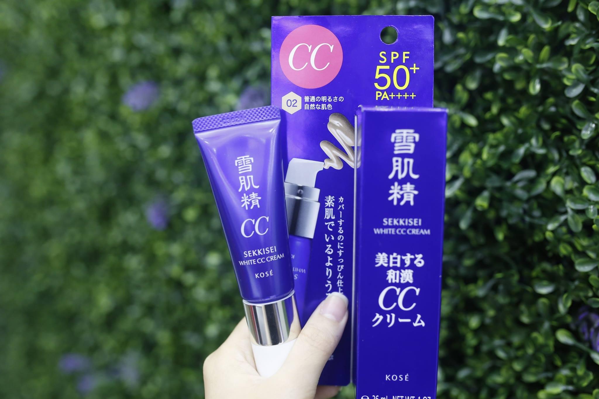 kem-trang-diem-kose-sekkisei-white-cream-spf50pa-28g