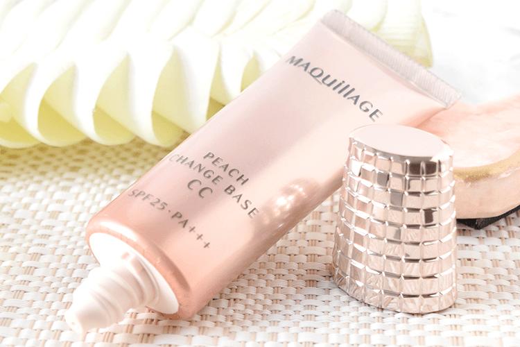 Kem lót đa năng Shiseido Maquillage Peach Change Base CC Spf 25 - ảnh minh họa