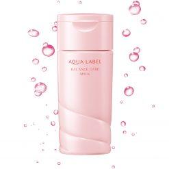 sua duong Aqualabel Shiseido Balance Care Milk