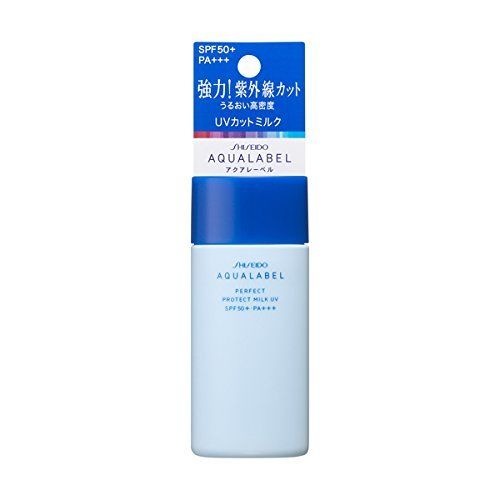 sua duong chong nang shiseido aqualabel perfect protect milk uv spf50 pa