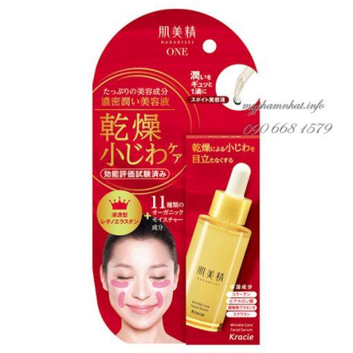 kracie hadabisei wrinkle care facial serum tri nhan mat khoe mieng