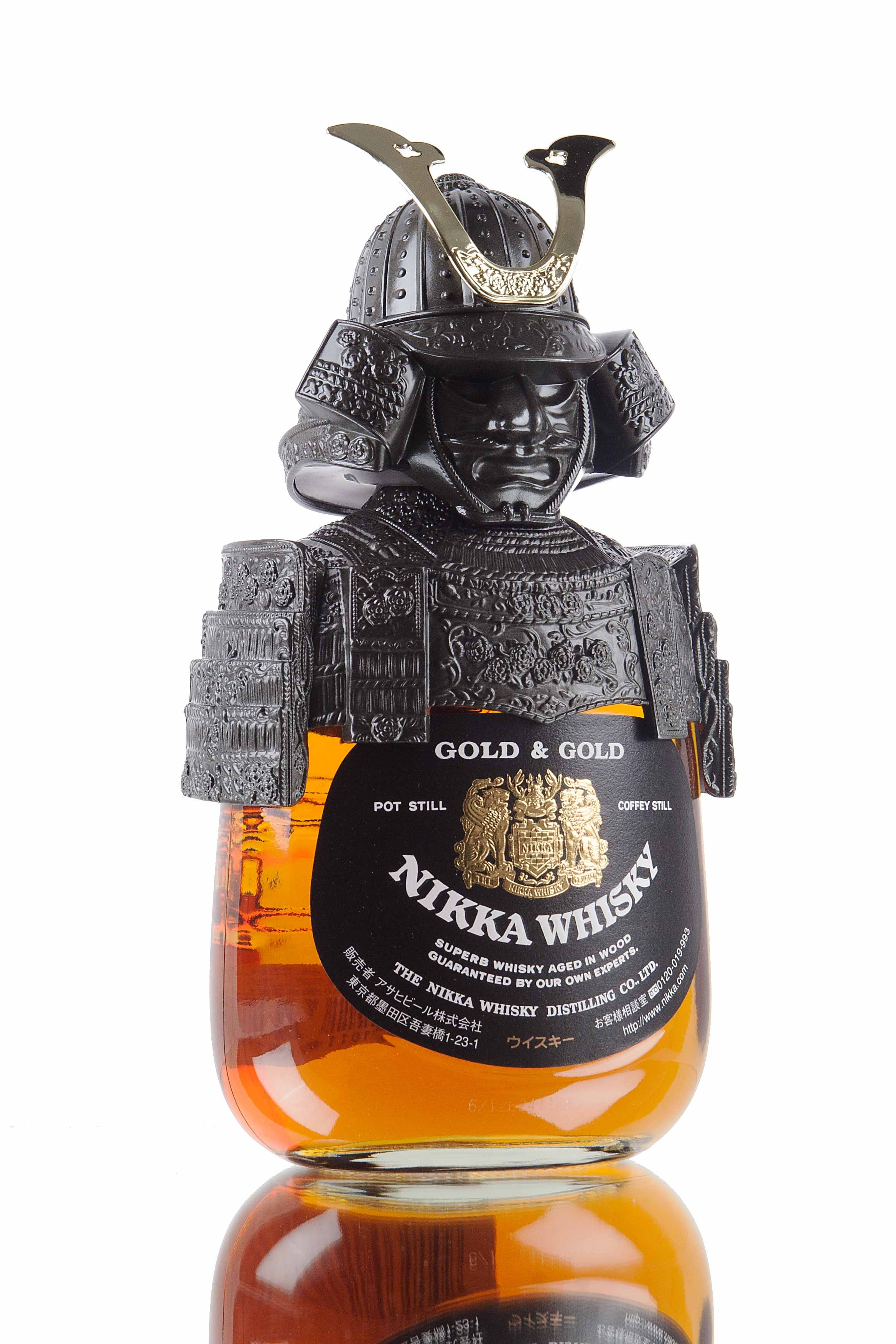 nikka-gold-and-gold-samurai-yoichi-japanese-whisky