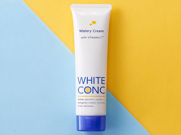 kem duong trang da white conc watery cream japan