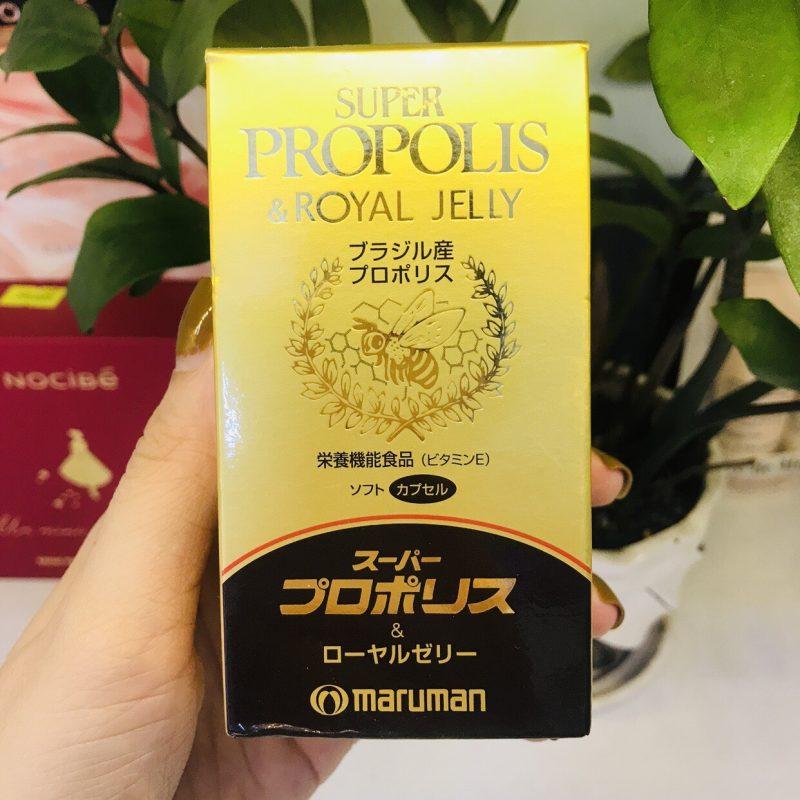 sua ong chua maruman super propolis royal jelly japan