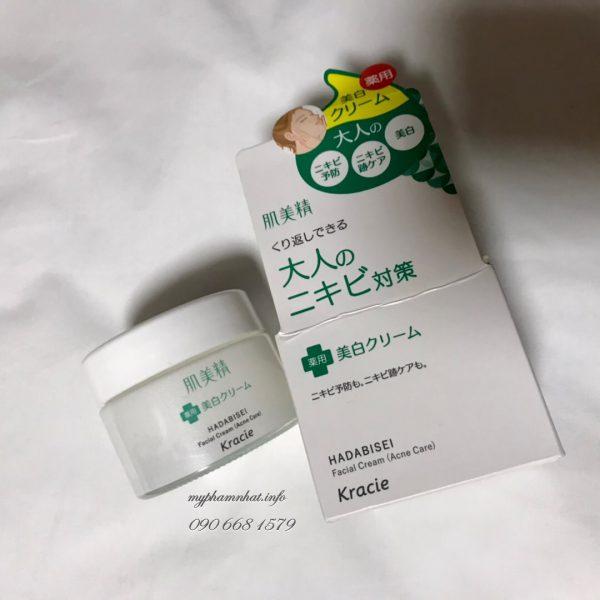 kem-duong-da-mun-kracie-hadabisei-facial-cream