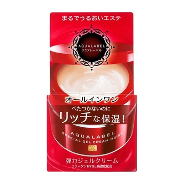 aqualabel special gel cream moist all in one nhat ban 90g