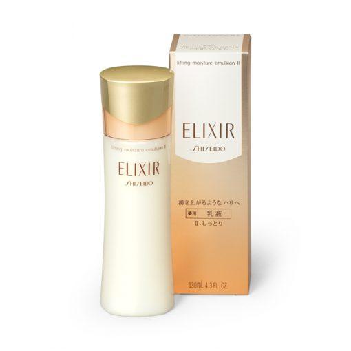 sua duong da shiseido elixir lifting moisture emulsion nhat ban