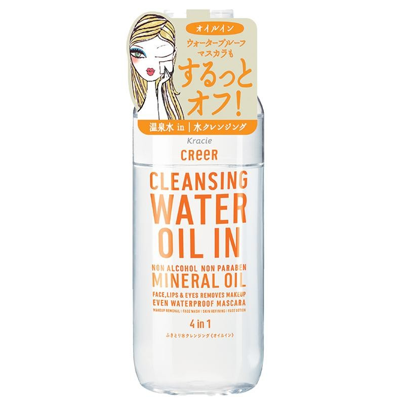 tay-trang-kracie-creer-cleansing-water-oil-4-in-1-nhat-ban-noi-dia