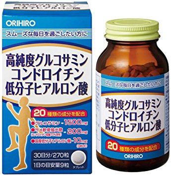vien-uong-bo-xuong-khop-orihiro-glucosamine-chondroitin-hyaluronic-acid-nhat-ban