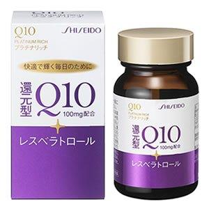vien-uong-dep-da-chong-lao-hoa-shiseido-q10-platinum-rich-100mg