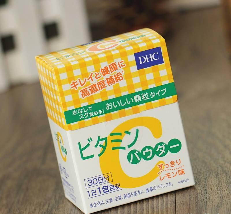 bot vitamin c dhc nhat ban