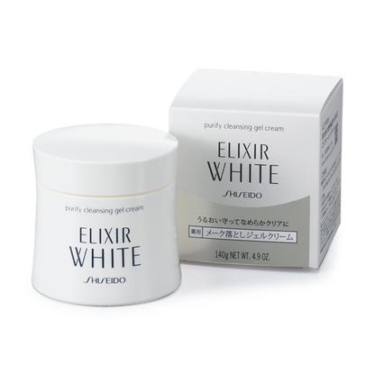 kem tay trang shiseido elixir white purify cleansing gel cream
