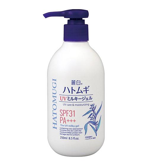 sua-duong-the-chong-nang-hatomugi-uv-milky-gel-nhat-ban