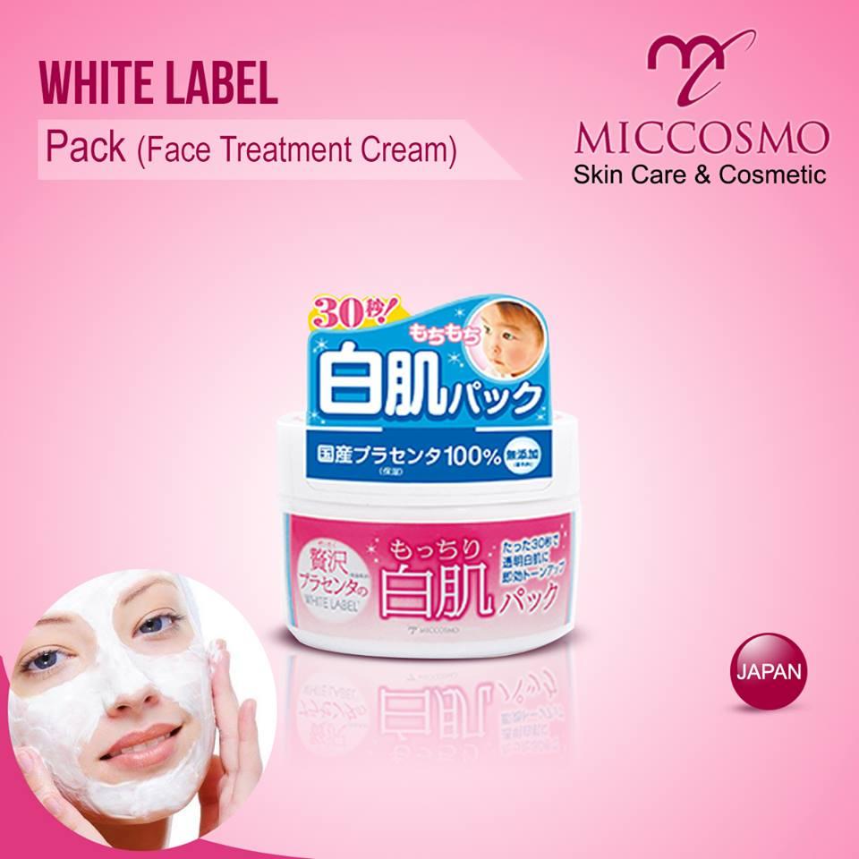 mat na duong trang da white label premium placenta pack 130g