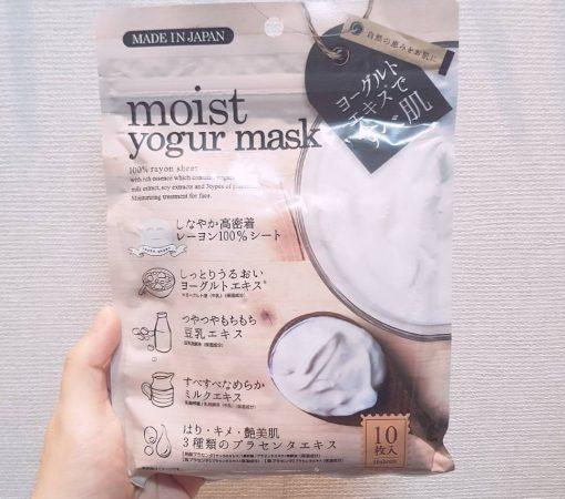 mat na sua chua moist yogur mask japan
