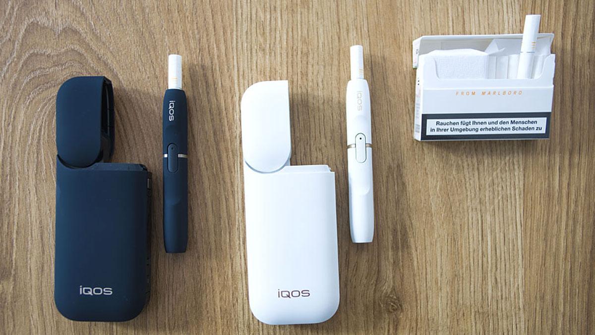 Philip Morris e cig IQOS Kit review