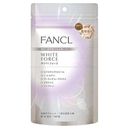 Vien uong trang da Fancl White Force