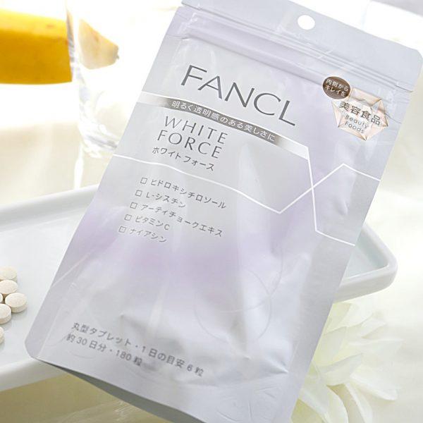 vien-uong-trang-da-fancl-white-force-nhat-ban