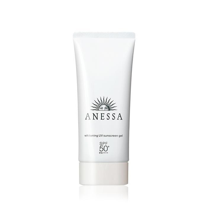 gel chong nang anessa shiseido whitening uv sunscreen gel