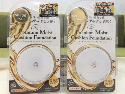 phan nuoc tiara girl premium moist cushion foundation
