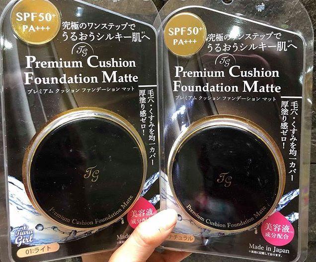 Phấn nước Tiara Girl Premium Moist Cushion Foundation SPF50/PA+++ ...