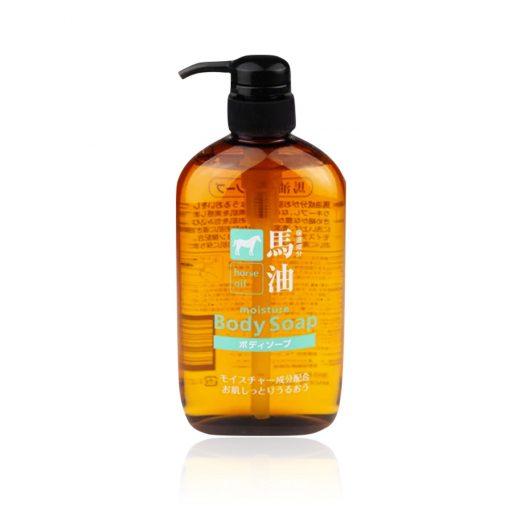 sua tam tinh chat mo ngua horse oil moisture body soap