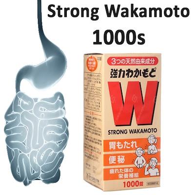 vien uong dieu tri da day tieu hoa wakamoto strong nhat ban