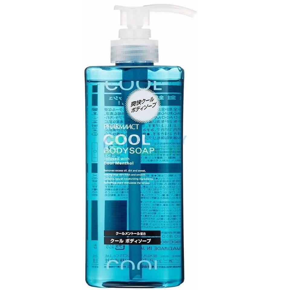 sua tam cool body soap pharmaact cho nam