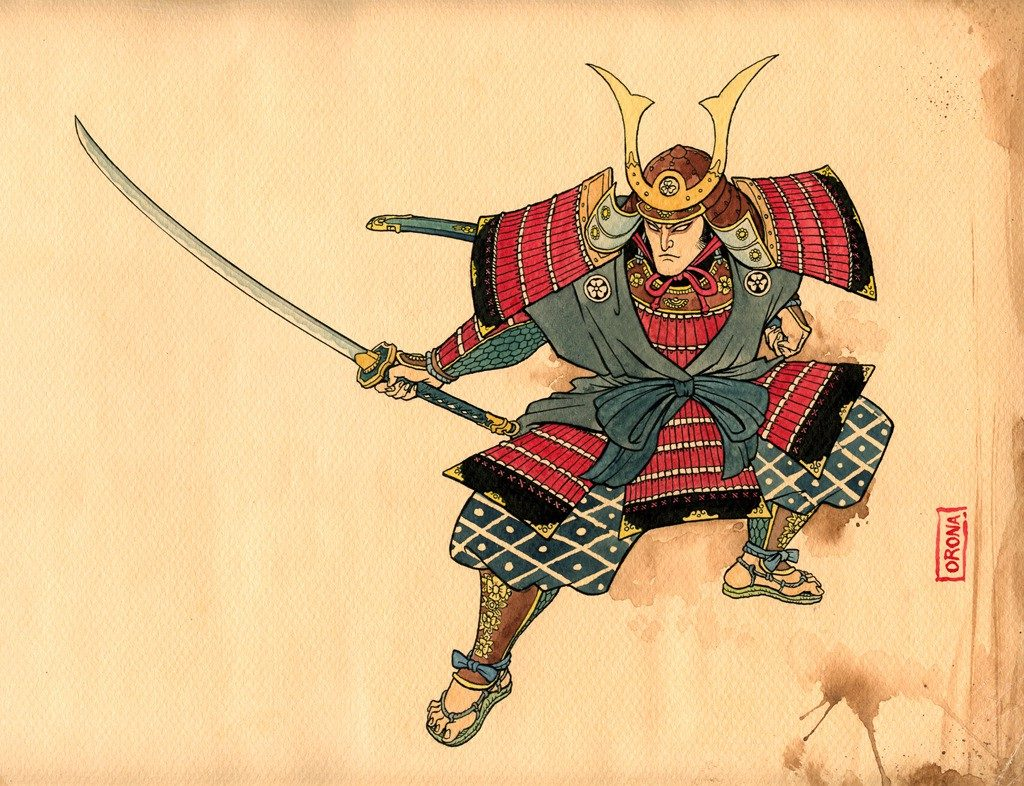 samurai nhat ban